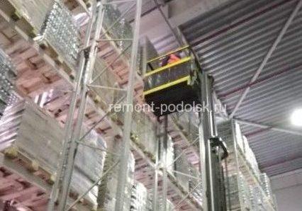 Монтаж, демонтаж и перенос стеллажей