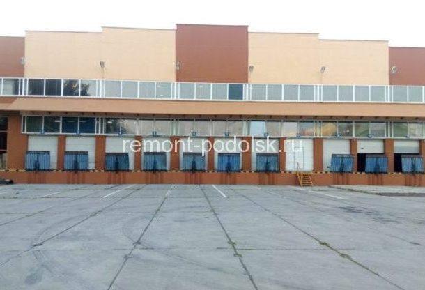 Покраска фасада склада 10000 кв.м