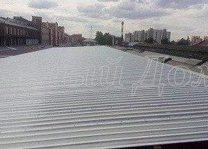 Капитальный ремонт кровли на складе Серпухов
