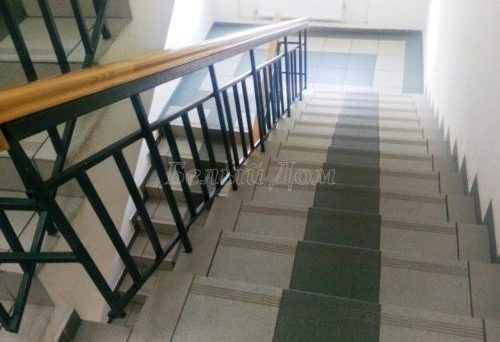Ремонт лестницы в офисе, Домодедово