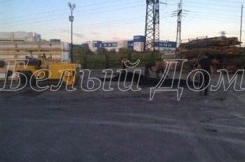 Ямочный ремонт асфальта в Подольске