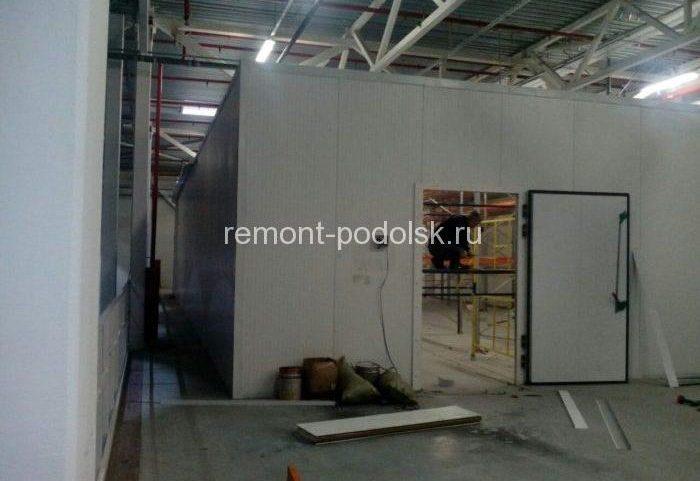 Фотогалерея строительно-ремонтных работ на складах