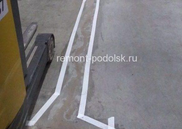 Устройство и ремонт бетонного пола
